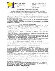 S.C. GESTIONE ATTREZZATURE SANITARIE - ASL TO 1