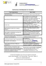 Informazioni più richieste - FAQ - ASL TO 1