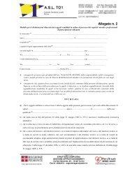 Allegato n. 2 - ASL TO 1