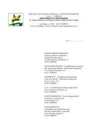 servizio sanitario nazionale - regione piemonte - ASL TO 1