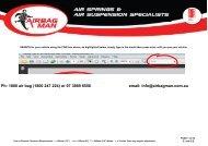 1800 Air Bag (1800  247 224) - Airbag Man