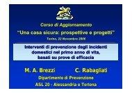 Interventi di prevenzione degli incidenti domestici nel ... - ASL TO 1