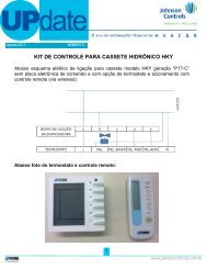 BT UPdate - Nº 31 / Agosto 2011 (PDF) - Johnson Controls