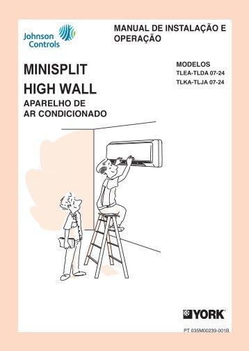 Manual - Split York High Wall Rockies - Building ... - Johnson Controls