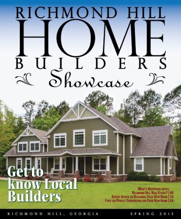 Richmond Hill Home Builders Showcase Magazine