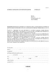 SCHEMA DOMANDA DI PARTECIPAZIONE IN BOLLO ... - ASL TO 1