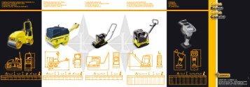 planchas reversibles reversible plate compactors placas ... - Lebrero