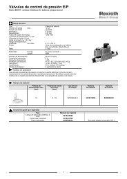 Válvulas de control de presión E/P