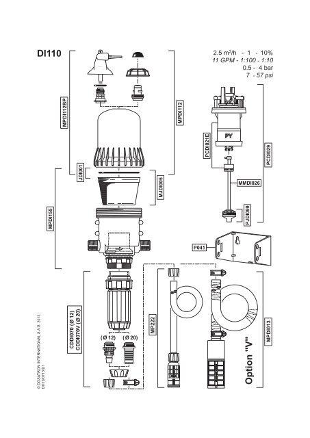 Di 110 Parts Diagram