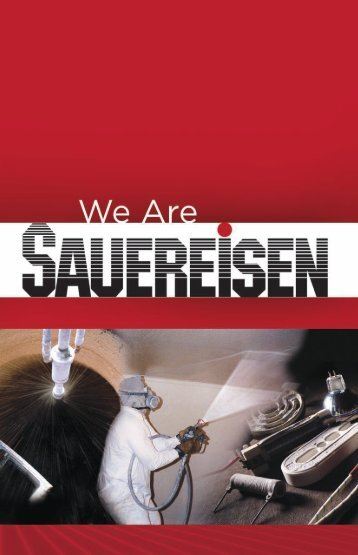 Corporate Capabilities Brochure - Sauereisen