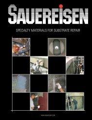 Substrate Repair Materials Brochure - Sauereisen