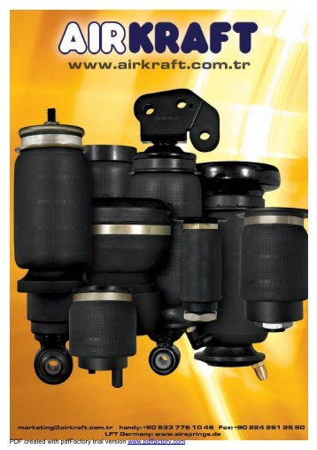 Download Cab Air Springs catalogue - ac automation