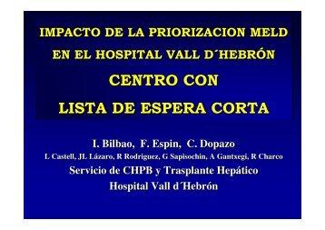Impacto de la priorizaciónMeld en el Hospital Vall d'Hebron, un ...