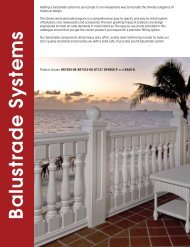 Balustrade Systems - RES Architectural Sales, Inc.