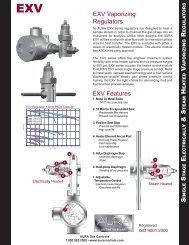 EXV Vaporizing Regulators S S E & S H V R - AURA Gas Controls