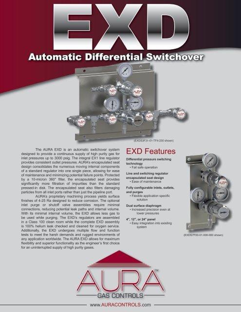 View Catalog Page - AURA Gas Controls