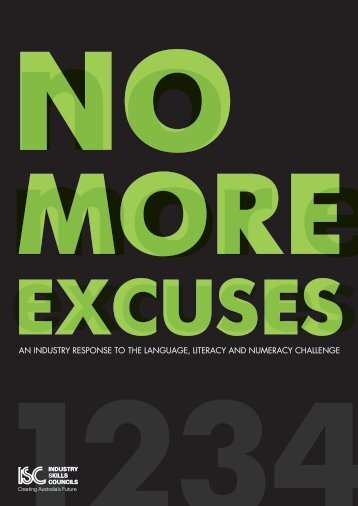 No more excuses: An industry response to the language, literacy ...