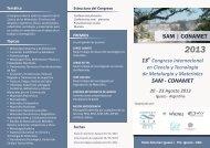 sam conamet - INTRANET ::: Facultad de Ingeniería - Universidad ...