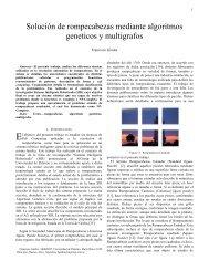 Solución de rompecabezas mediante algoritmos geneticos y ...