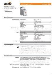 Technische gegevens Standsteller SGE24 - Xref