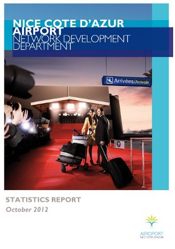 monthly statistics report - Aéroport Nice Côte d'Azur