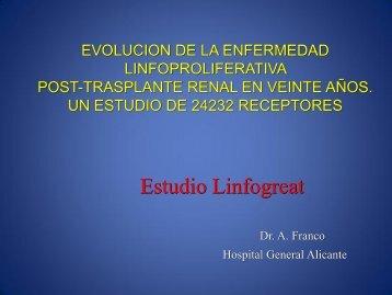 Evolucion de la enfermedad linfoproliferativa post-trasplante renal ...
