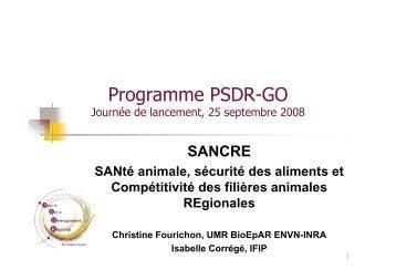 et Isabelle Corrégé (IFIP) - cens.nantes.inra.fr