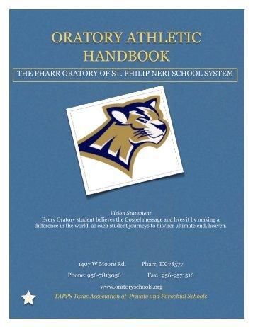 See PDF in English - The Pharr Oratory of St. Philip Neri School ...