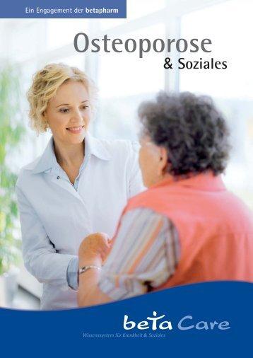 Ratgeber Osteoporose - Schmerzzentrum Ludwigshafen