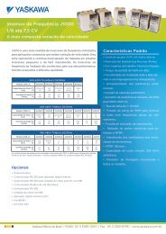 Inversor de Frequência J1000 1/8 até 7,5 CV - pidindustrial.com.br