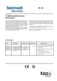 MN 550 I/A SERIE MICRONET MN 550 REGULATEUR - Xref