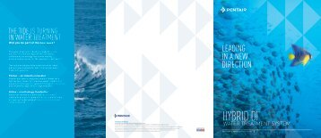 Hybrid DI Brochure - Pentair Residential Filtration