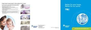 9100TS Consumer Brochure - Pentair Residential Filtration