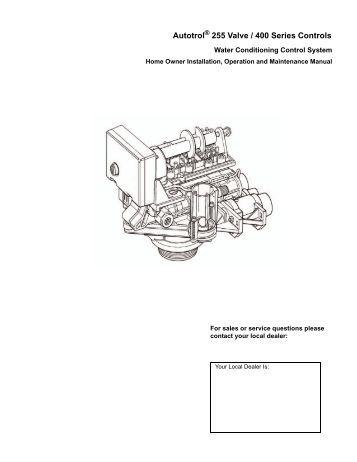 1700 BRINE VALVE SYSTEM