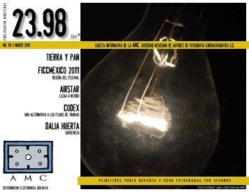 Tierra y Pan Dalia Huerta AirStar CODEX Ficcmexico 2011 - Imago