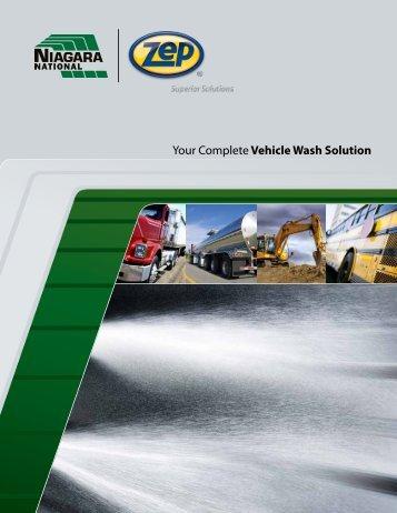 Truck Wash Capabilities Brochure   Zep Equipment
