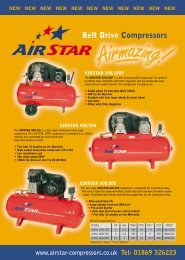 AirStar A4 Leaflet (Page 1) - Air Compressor