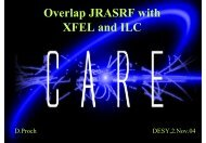 CARE-SRF - Desy