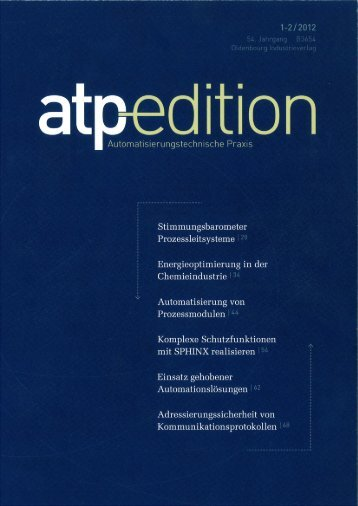 atp edition, 1-2/2012 (PDF) - PSI Technics