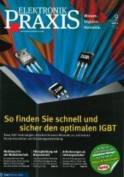 Elektronik Praxis, Pressemitteilung der PSI Technics, 11. Mai 2011