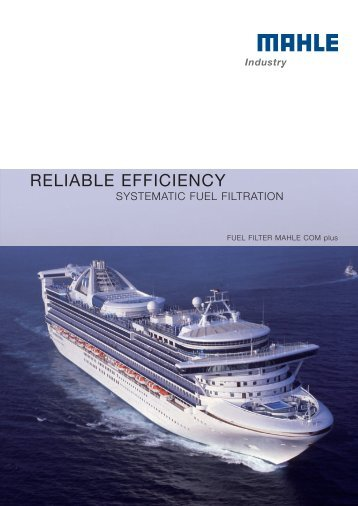 Fuel filtration - MAHLE Industry