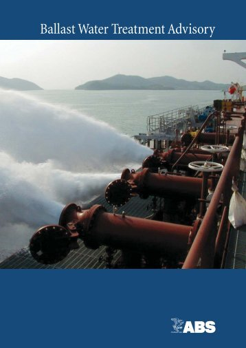 Ballast Water Treatment Advisory - Ditech AS