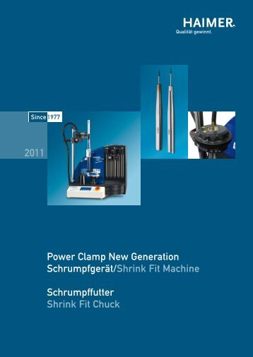 Power Clamp New Generation Schrumpfgerät/Shrink Fit Machine ...