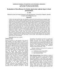 Evaluation of the  efficacy of a family sized solar cabinet dryer in food ...