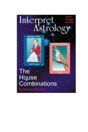 Interpret Astrology The House Combinations - Matrix Software