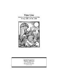 Time Line - Matrix Software