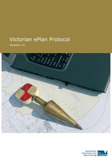 Victorian ePlan Protocol - Spear