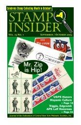 september-october 2005 online - Stamp Insider Online