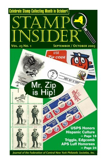 september-october 2005 online - Stamp Insider Online
