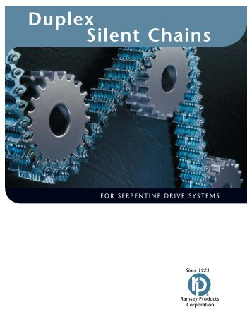 Ramsey Duplex Silent Chains